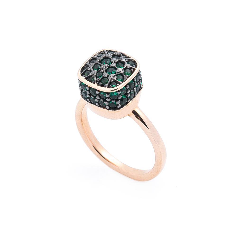 Золотое кольцо (фианиты) гк05465