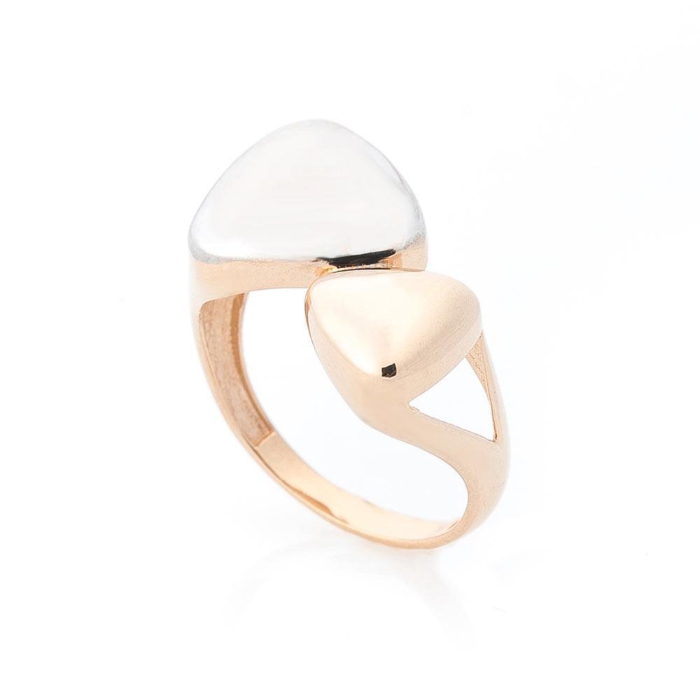 Золотое кольцо без камней гк05537