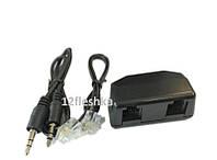 Адаптер для телефонной линии вход для цифрового диктофона со штекером 3,5 мм - разъем под наушники, фото 1