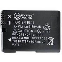 Акумулятор Extradigital Nikon EN-EL14