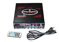 Усилитель звука UKC SN-308 USB+SD+MP3+Karaoke, фото 4
