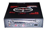 Усилитель звука UKC SN-308 USB+SD+MP3+Karaoke, фото 2