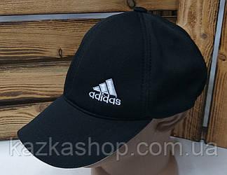Мужская кепка в стиле Adidas (реплика) черного цвета, лакоста, сезон весна-лето, малая вышивка, на резинке, фото 2