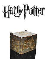 """Музыкальная шкатулка """"Гарри Поттер"""" (Бразильский Орех Реверс)"""