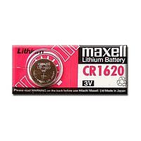 Батарейка таблетка CR1620 Maxell блістер (1шт) (MXBCR16201)