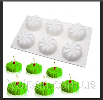 Форма для муссовых десертов Розетки