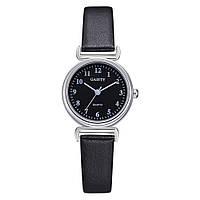 Черные женские наручные часы Gaiety для небольшого запястья | Циферблат 26мм | 1647