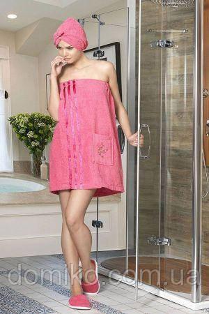 Набор для сауны женский Philippus розовый