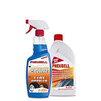 Очиститель и полироль для шин ATAS Pneubell, 1л.