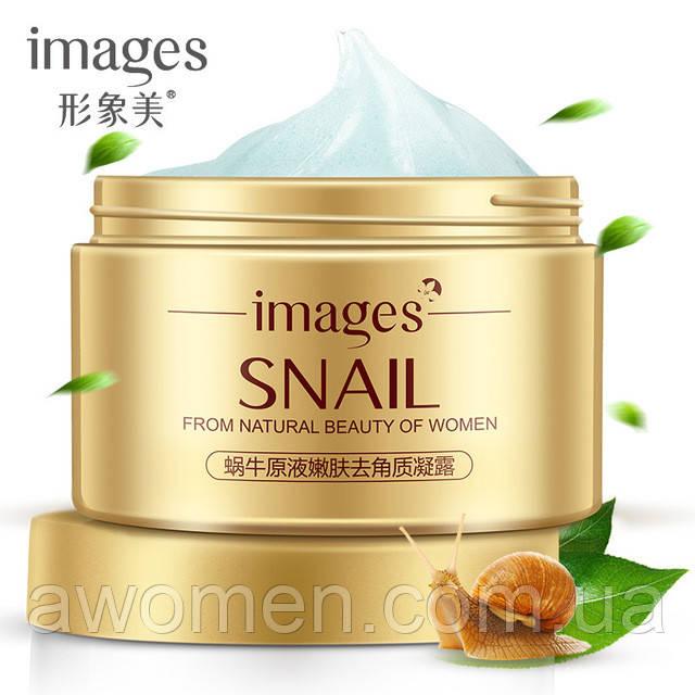 Пилинг-скатка Images Water Snail Dope Moist Skin 140 g