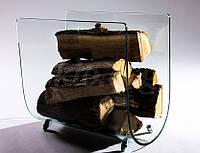 Дровница стеклянная, фото 1