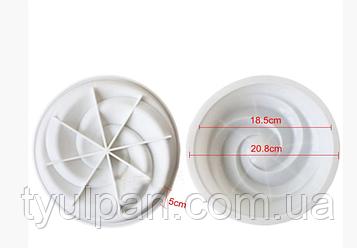 Форма для выпечки силикон Вихрь