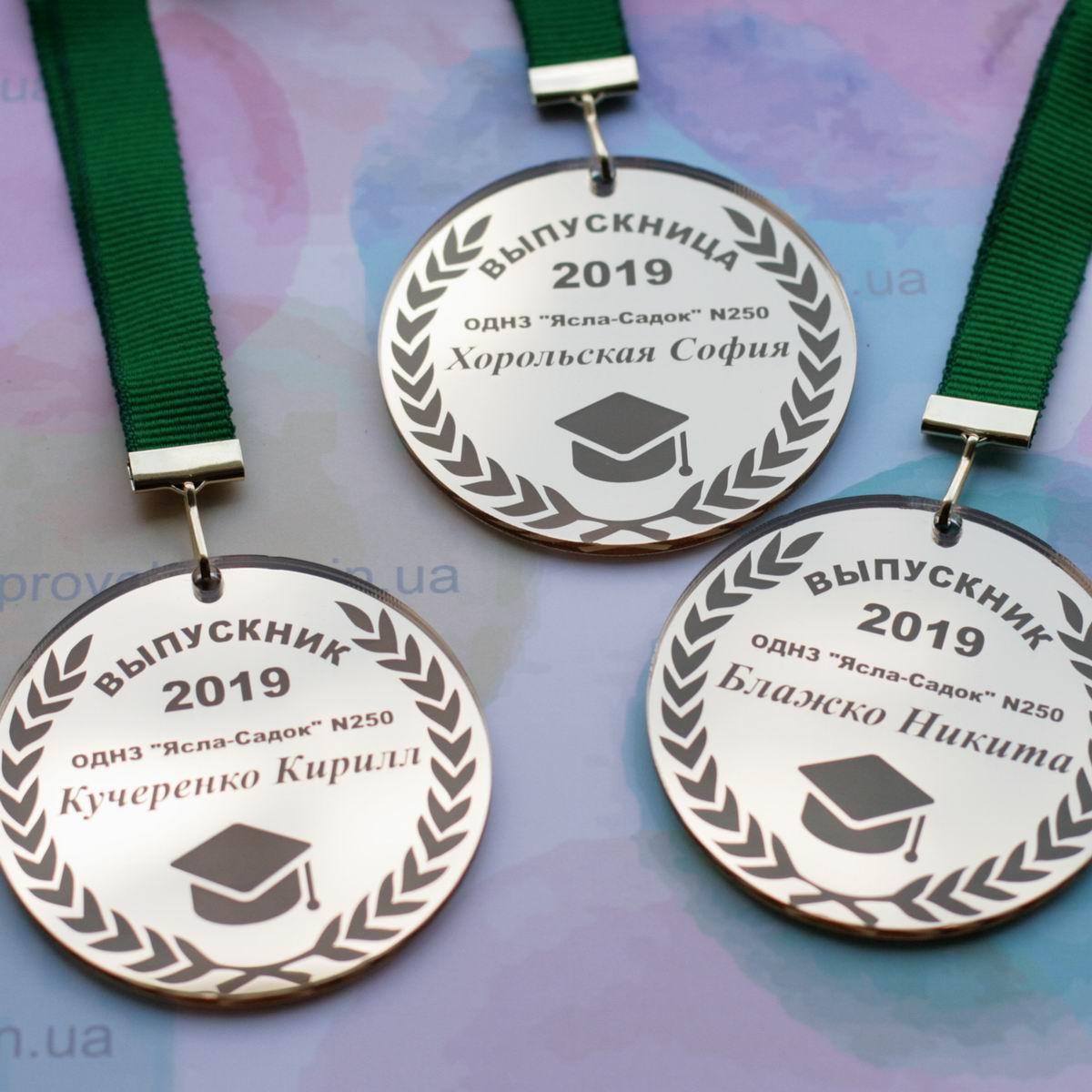 Медаль выпускника школы, гимназии, лицея