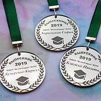 Медаль выпускника школы, гимназии, лицея, фото 1