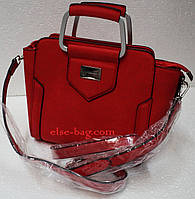 Каркасная маленькая сумка через плечо