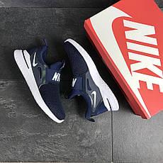 Мужские кроссовки Nike Renew Rival,темно синие с белым, фото 3