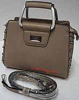 Маленькая сумка через плечо с бусинками