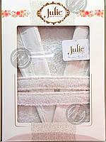 Халат бамбуковый унисекс Julie XL (52) белый, фото 1