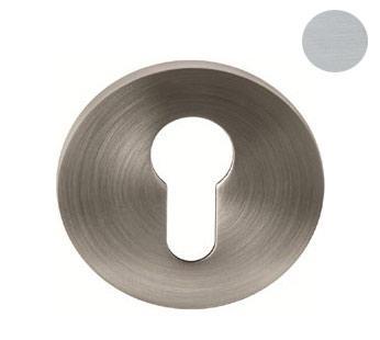 Накладка под цилиндр EMPORIO RR1 SCH матовый хром  d 55 мм
