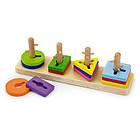 Детская головоломка сортер Viga Toys Форма и цвет (50968), фото 2