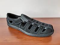 Босоножки сандалии мужские черные (код 997)