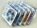 Ковпачки силіконові на колісні гайки 19 мм круглі малинові, фото 4