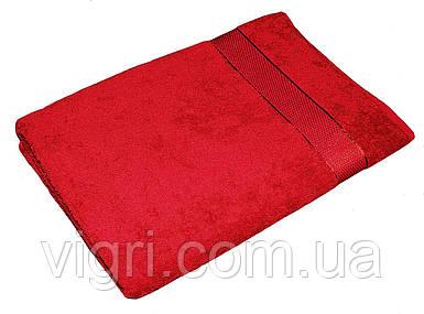 Рушник махровий Азербайджан, 40х70 див., червоне