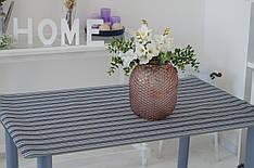 Салфетка виниловая под столовые приборы Полоска  120х80 см, серветка сервірувальна