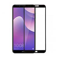 Захисне скло Huawei Y7 2018 Prime 2.5D 2.5D 2.5D Black border FG прозоре (Чорне) 2E