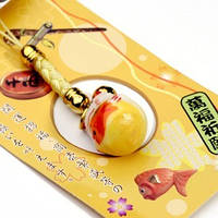 Манэки-нэко «Изобилие. Котик с рыбкой», фото 1