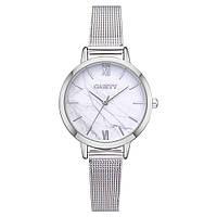 Стильные женские часы Gaiety с тонким металлическим браслетом | 6431, фото 1