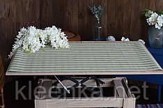 Подставка виниловая под тарелки Полоска  100х60 см, серветка вінілова сервірувальна