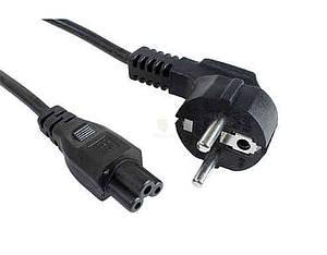 Кабель живлення для ноутбука Power cord 3pin (клевер), 1.2м (Original)
