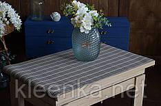 Салфетка, сет на стол под посуду 100х60 см Коричневая полоса