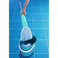 Швабра для пола с отжимом leifheit wring mop, фото 1