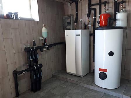 Ґрунтовий тепловий насос NIBE™ F1145 12 кВт 230В, фото 2