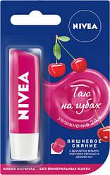 Бальзам для губ NIVEA Фруктовое сияние Вишня 4,8 г