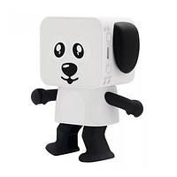Колонка-іграшка безпровідна Собака (танцює) Black