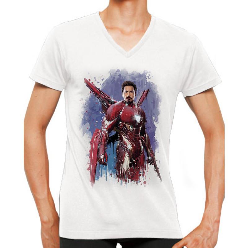 Футболка Марвел Тони Старк / Marvel Мстители война бесконечности