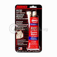 Герметик силиконовый ABRO AB-11 RED
