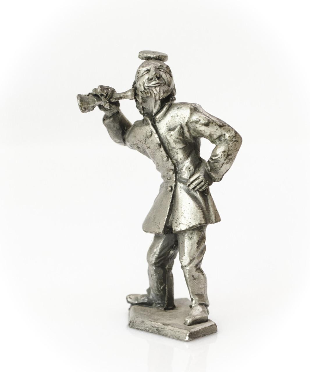 Скульптура, миниатюра, лекарь, олово GF Germany