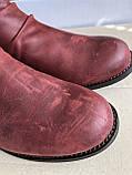 Ботинки caterpillar casual kiley бордового цвета, фото 8