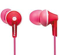 Навушники вакуумні провідні без мікрофона Panasonic RP-HJE125E-P Pink