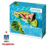 Пляжный надувной матрас  Intex 58764  Долька Киви