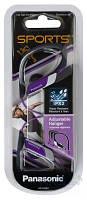Навушники вкладиші провідні без мікрофона Panasonic RP-HS34E-V Violet, фото 1