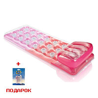 Надувной матрас для плавания Intex 188*71 см (розовый)