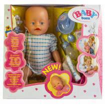 Куклы и Пупсы оптом | Кукла Baby Born (Бейби Борн) с аксессуарами (К163)