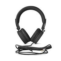 Навушники накладні провідні з мікрофоном Fresh N Rebel Caps Wired Headphone On-Ear Сoncrete, фото 1