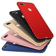 Накладка для Huawei Nova Lite пластик Soft Touch Series Чорний, фото 1