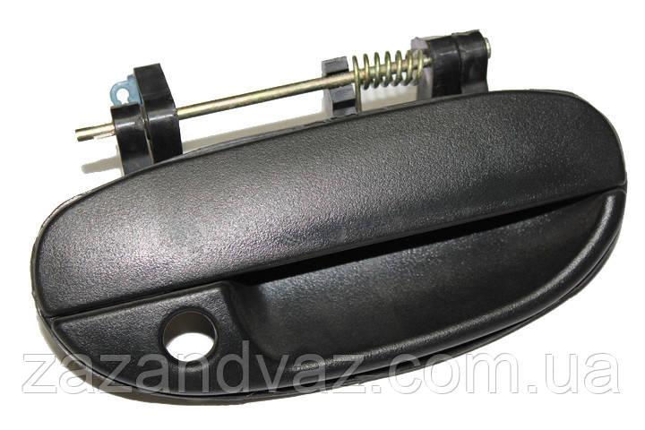 Ручка дверей зовнішня передня ліва Ланос Lanos Сенс Sens Корея оригінал 96226249